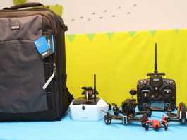 FPV Airport backpack review