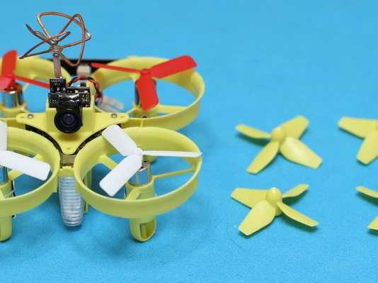 Propeller mod for Eachine QX70 quadcopter