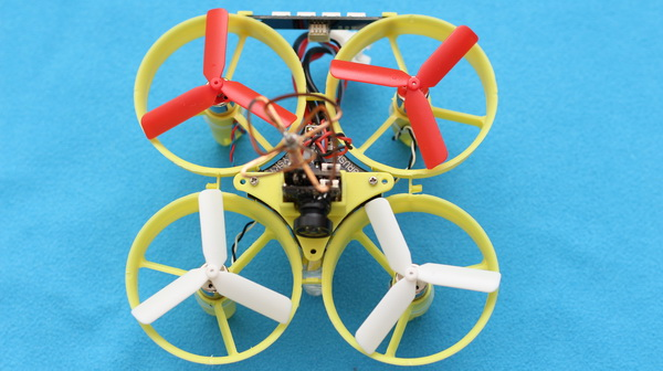 Propeller mod for Eachine QX70 - Verdict