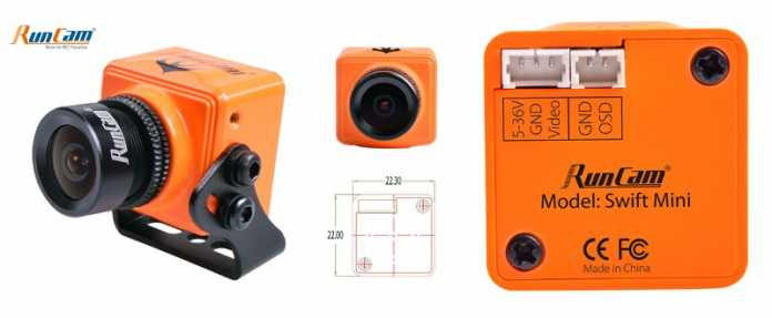 RunCam Swift Mini camera