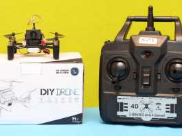 DM002 DIY drone review