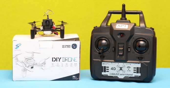 DM002 DIY drone review
