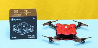 Eachine E55 Mini review and test