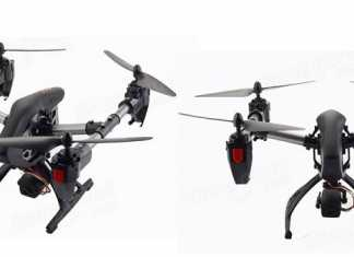 JD11 quadcopter with alt hold