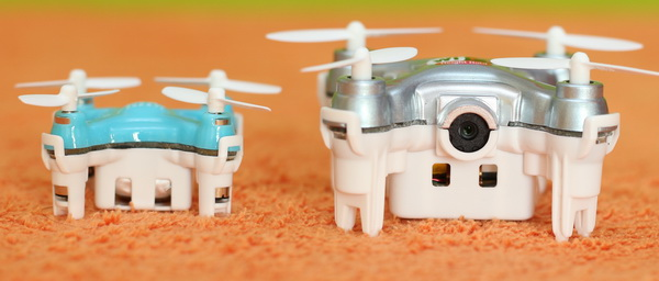 Mini quadcopter vs Nano quadcopter