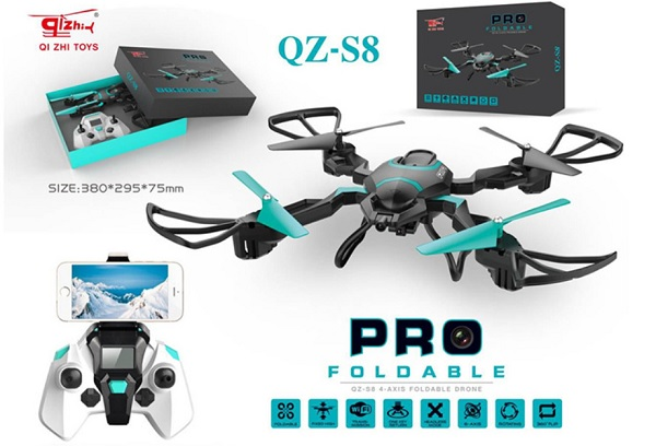 QZ S8 drone package content