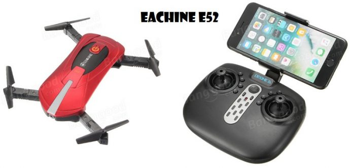 Eachine E52 selfie quadcopter
