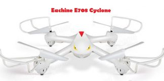 Eachine E708 Cyclone drone
