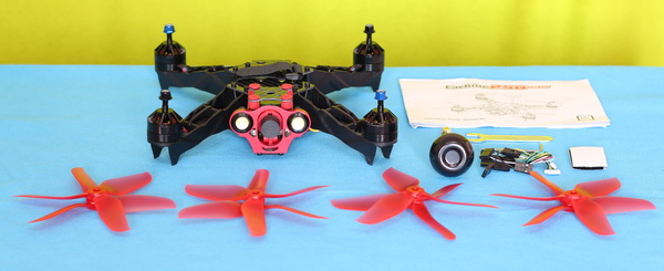 Eachine Racer 250 Pro review - PNP Package content