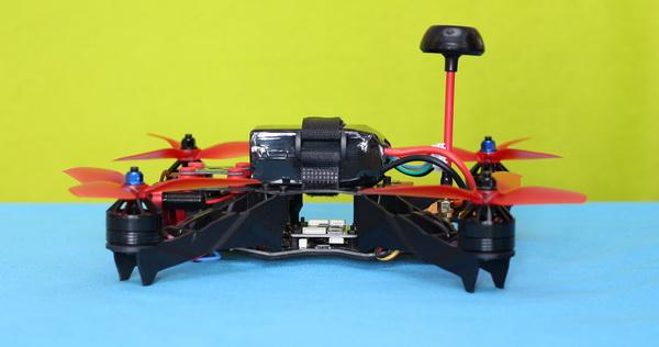 Eachine Racer 250 Pro review - 4s Li-Po Battery