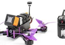Eachine Wizard X220S quadcopter