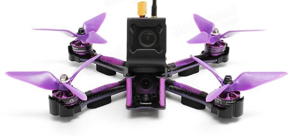 Eachine Wizard X220S camera mount for GoPro Session and RunCam3