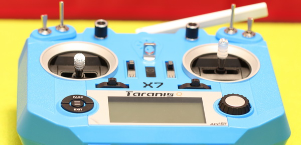Taranis Q X7 review - Controls