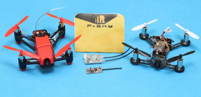 FrSky receivers: D8 and XSR