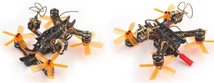 Realacc Horns 100 3D FPV drone