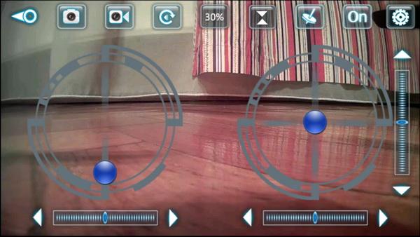 VISUO XS809HW review - XSW APP control