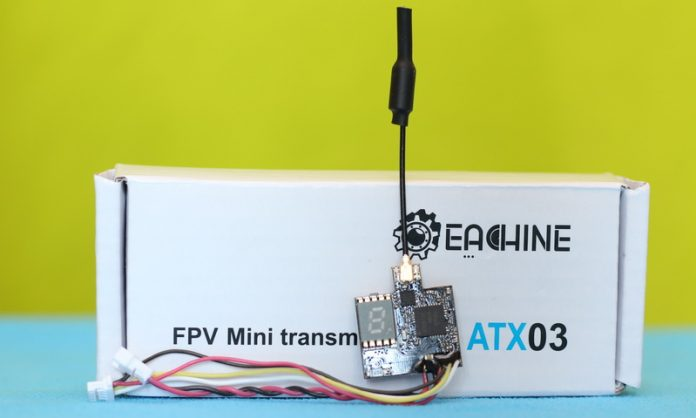Eachine ATX0 VTX review and test