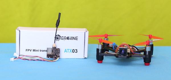 Eachine ATX03 review - VTX for small FPV quadcopter