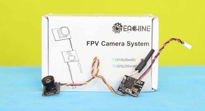 Eachine TX01S VTX camera review