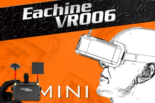 Eachine VR-006 mini FPV glasses