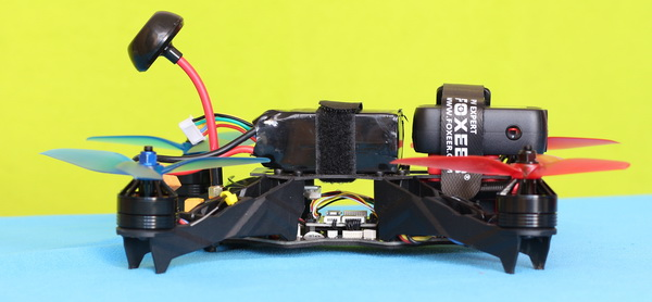 Foxeer Legend 3 review - Mounted on Eachine Racer 250 Pro quadcopter