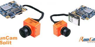 RunCam Split camera