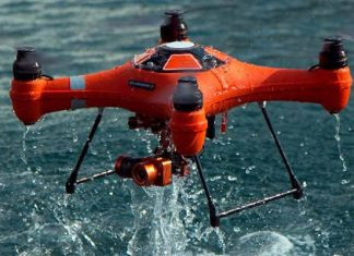 Splash Drone 3 quadcopter