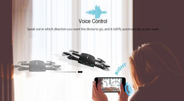 BAYANGTOYS X20 drone voice control