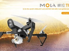 MOLA TOURIST1 quadcopter