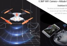 TKKJ TK111W foldable quadcopter