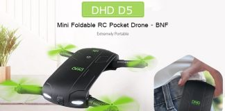 DHD D5 quadcopter