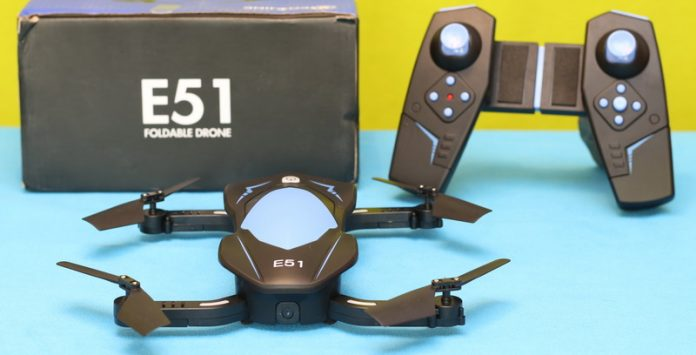 Eachine E51 quadcopter review