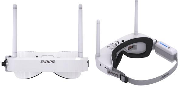 Eachine EV100 FPV goggles design