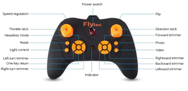 Flytec T11S remote controller