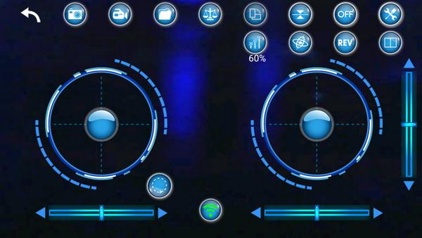 GTENG T908W drone review - App control