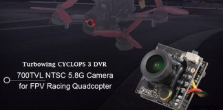 Turbowing CYCLOPS 3 camera with DVR