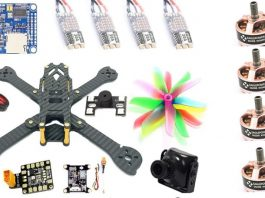 Fighter 220 DIY quadcopter