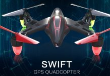 TOVSTO SWIFT GPS quadcopter