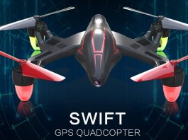TOVSTO SWIFT GPS quadcopter