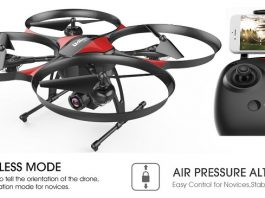 DROCON U818PLUS quadcopter