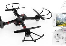 Drocon Cyclone X708w beginner drone