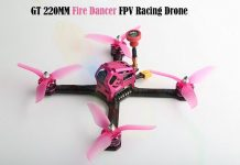 FuriBee GT 220MM Fire Dancer FPV quadcopter