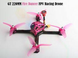 FuriBee GT 220MM Fire Dancer FPV quadcopter