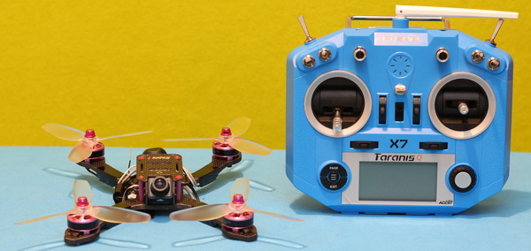 Holybro Kopis 1 drone review: Binding instruction with FrSky radion