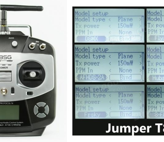 Jumper T8SG Multi-Protocol transmitter