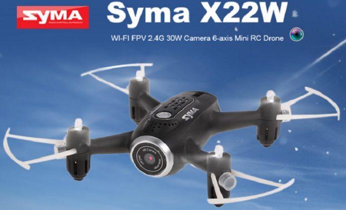 Syma X22W selfie quadcopter