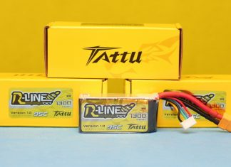 Tattu R-Line 4s 1300mAh Li-Po battery review