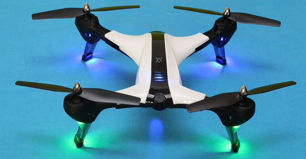 XiangYu XY017HW drone review: Led lights