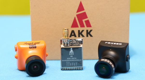 AKK X2 VTX review: Image quality