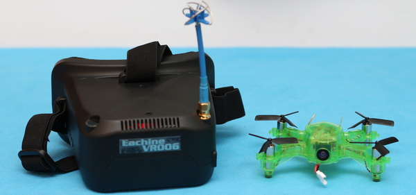 Eachine Q90C FlyingFrog review: VR006 FPV combo